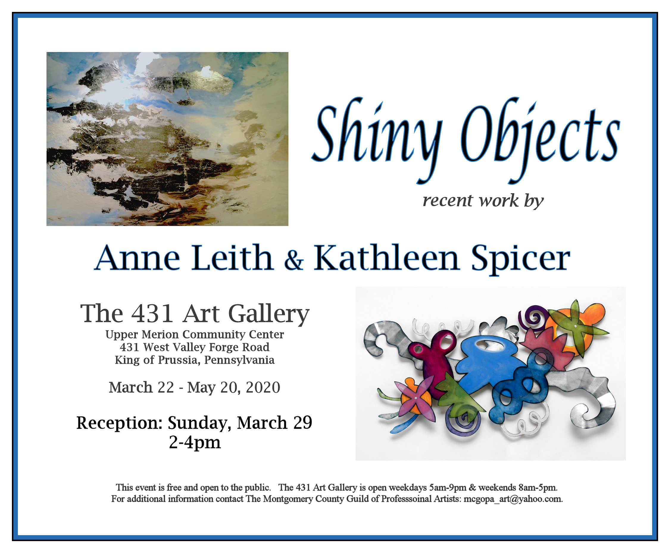 Shiny_Objects_2020_Leith_Spicer_Flyer